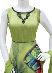 Green Readymade Salwar