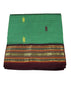 Green cotton nine yards Saree