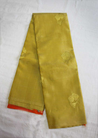 Multi Colour Kanchipuram Silk Saree- EU3732