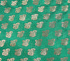 Green Blouse Fabric NBT2357