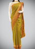 Light Green Semi Soft Silk Saree