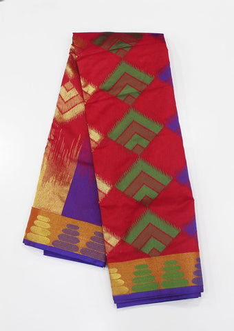 Multi Color Pure Silk cotton Saree-FF17162