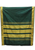 Green Nine Yards Silk Saree - EE13035
