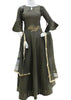 Dark Gray Readymade Salwar