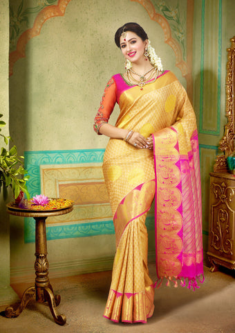 Golden Muhurtham Pure Silk Saree