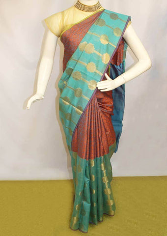 Aqua Green Fancy saree -FO12823 ARRS Silks
