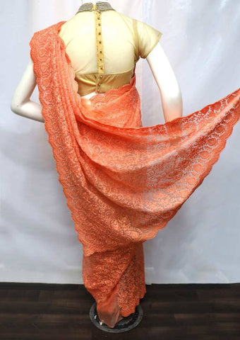 Beach Color Designer Saree - FE17943 ARRS Silks