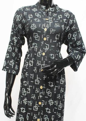 Black Color Kurti - FQ115013 ARRS Silks