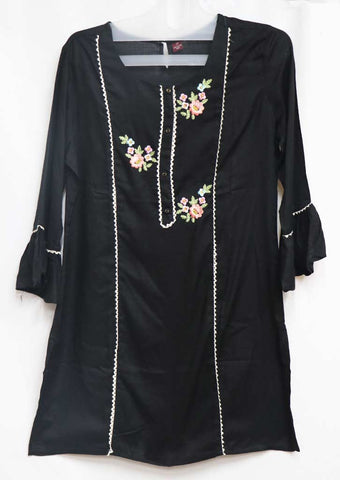 Black Color Kurti - GG21496 ARRS Silks