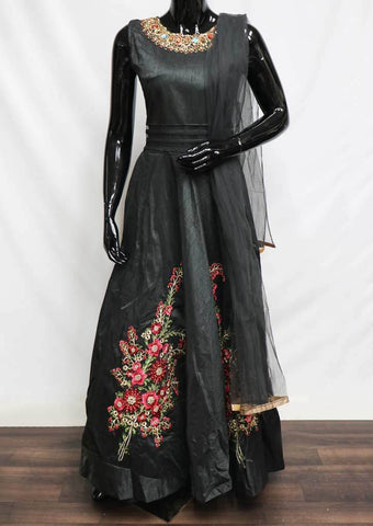 Black Frock- EY829 ARRS Silks