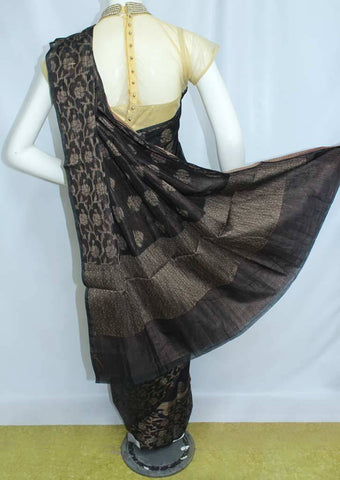 Black Manipuri Cotton Sarees- FP2146 ARRS Silks