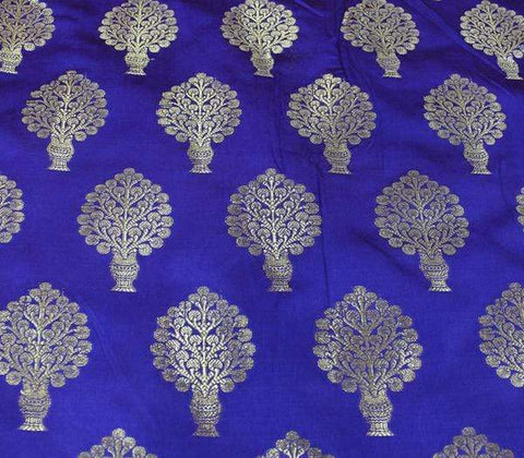 Blue Blouse Fabric EW14812 ARRS Silks