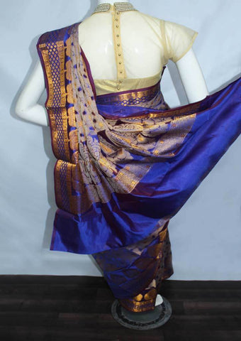 Blue Designer Saree-FO88147 ARRS Silks