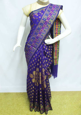 Blue Manipuri Cotton Sarees- FP1881 ARRS Silks