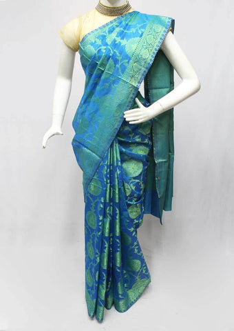 Blue Manipuri Cotton Sarees- FR105983 ARRS Silks