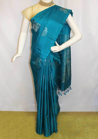 Blue Soft Silk Saree -EZ16020 ARRS Silks
