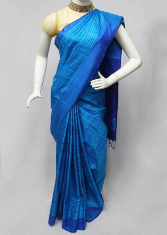 Blue Soft Silk Saree -FQ111203 ARRS Silks