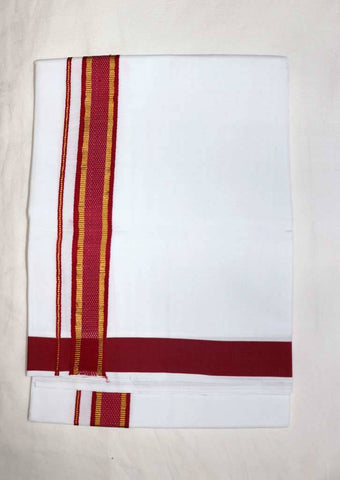 Cotton Dhoti - FU28065 ARRS Silks