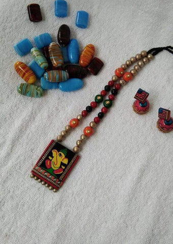 Customized Terracotta  Jewellery Mixed Color ARRS Silks