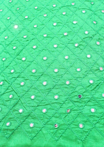 Dark Green Blouse Fabric FR104097 ARRS Silks