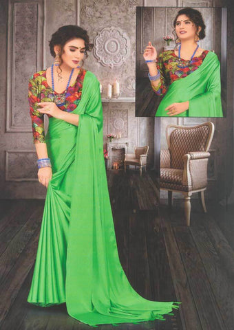 Dark Green Fancy Saree-FS32448 ARRS Silks
