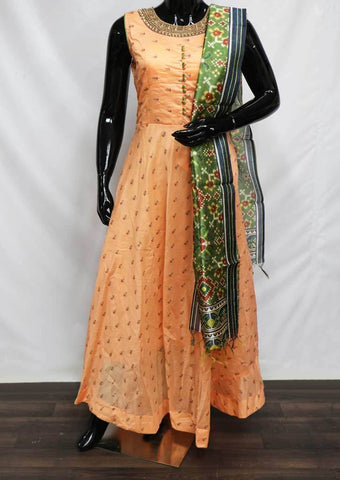 Dark Peach Color Readymade Salwar- FQ59383 ARRS Silks