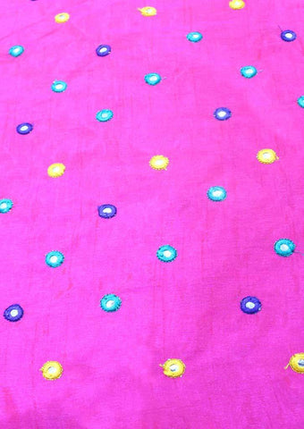Dark Pink Blouse Fabric FR104099 ARRS Silks