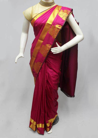 Dark Pink color Semi Silk Saree- FQ88265 ARRS Silks