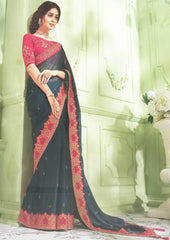 Elephant Color Designer Saree - FS31709 ARRS Silks
