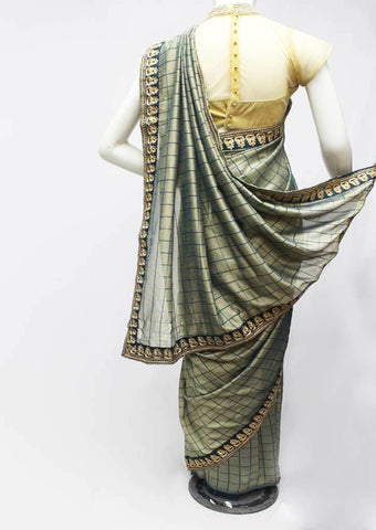 Gray Color Synthetic Saree-FR95457 ARRS Silks