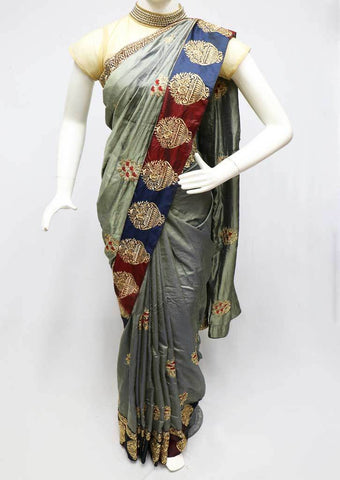 Gray Designer Saree - FS26389 ARRS Silks