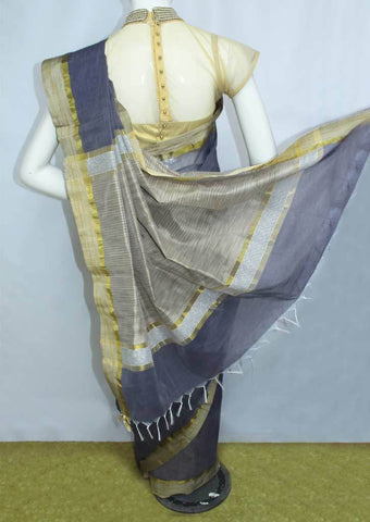 Gray Fancy Cotton Saree - FO77904 ARRS Silks