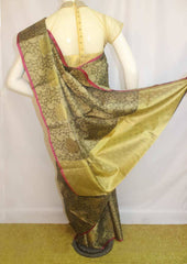 Gray Organza Cotton Sarees- F087557 ARRS Silks