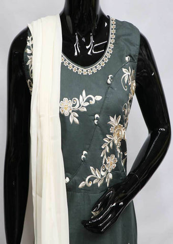 Gray Readymade Salwar- FP35593 ARRS Silks