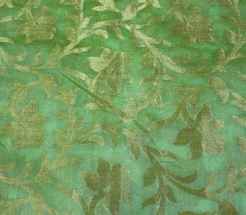 Green Blouse Fabric EW13993 ARRS Silks
