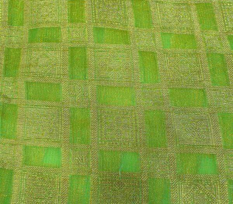 Green Blouse Fabric EW14005 ARRS Silks