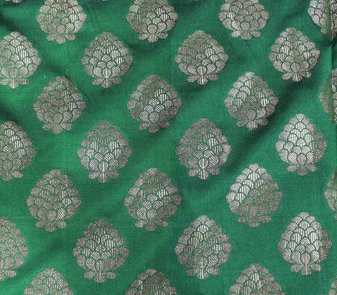 Green Blouse Fabric EW15959 ARRS Silks