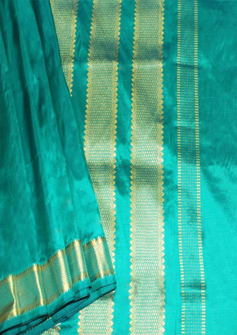 Green Color 9.5 Yards Silk Saree - 9KA4313 ARRS Silks