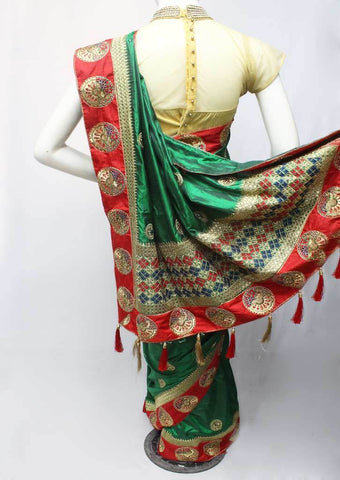 Green Color Fancy Saree-FN73448 ARRS Silks