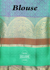Green Color Kanchipuram Silk Saree - EN3897 ARRS Silks