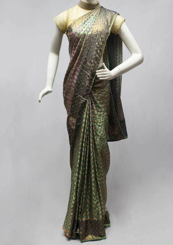 Green Designer Saree-FQ138861 ARRS Silks