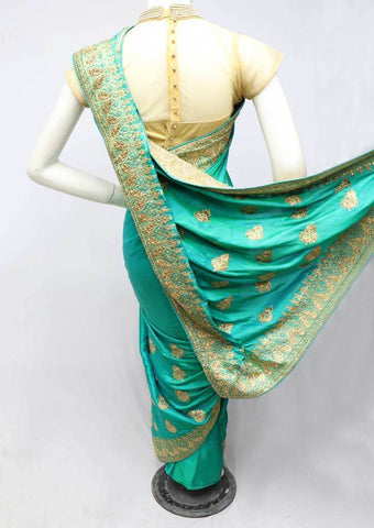 Green Designer Saree-FS26382 ARRS Silks