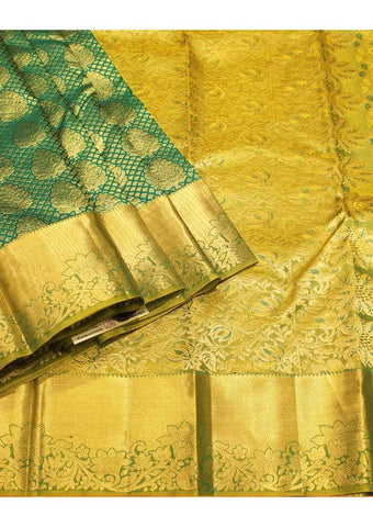 Green Muhurtham Silk Saree ARRS Silks