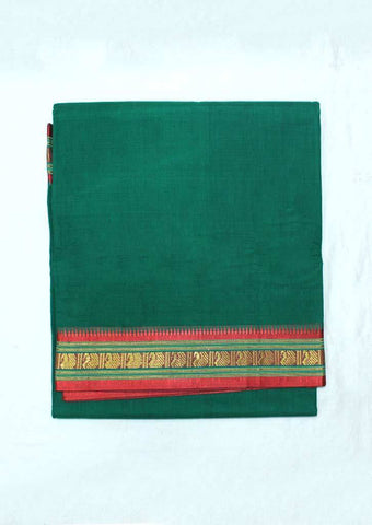 Green Pure Cotton 9.5 yards Saree - FP54193 ARRS Silks