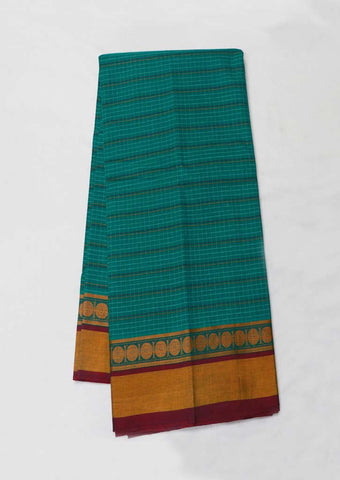 Green Pure cotton Sarees - GG11409 ARRS Silks
