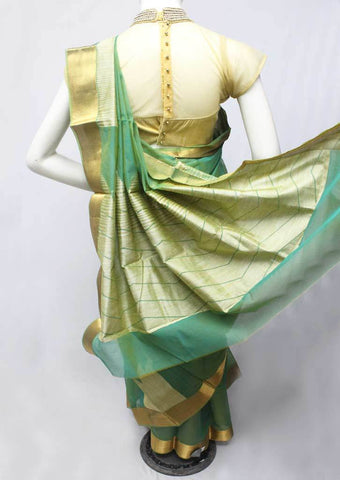 Green Silk Cotton Saree - FP3188 ARRS Silks