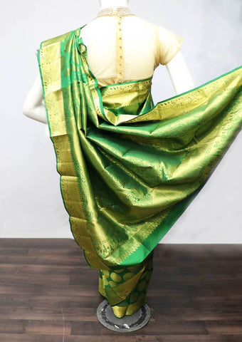 Green Wedding Silk Saree - FF13886 ARRS Silks