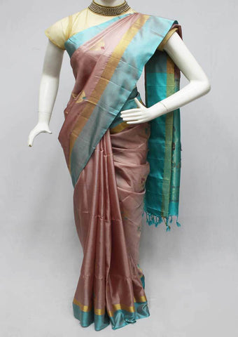 Honey Color Soft Silk Saree -FQ111204 ARRS Silks