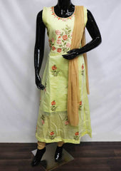 Lemon Yellow Readymade Salwar- FP35745 ARRS Silks