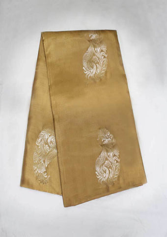 Light Brown With Violet Mayuri Soft Silk Saree - FL87434 ARRS Silks
